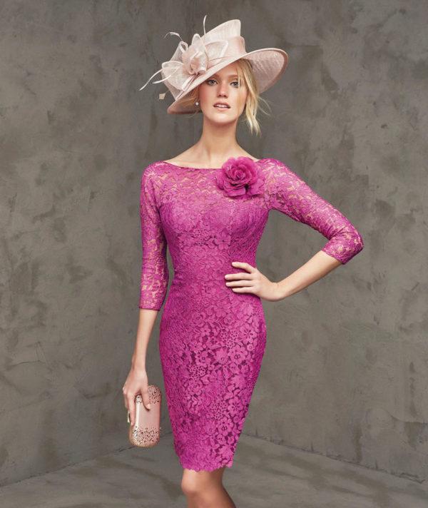 Vestidos para boda de dia primavera 2015 – Moda Española moderna 2018