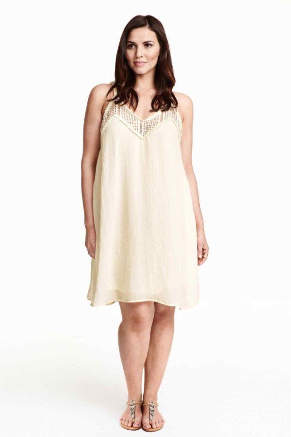 vestidos-para-gorditas-TENDENCIAS-vestido-blancos-h&m