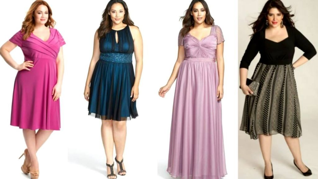 Vestido ala moda 2015 para gorditas