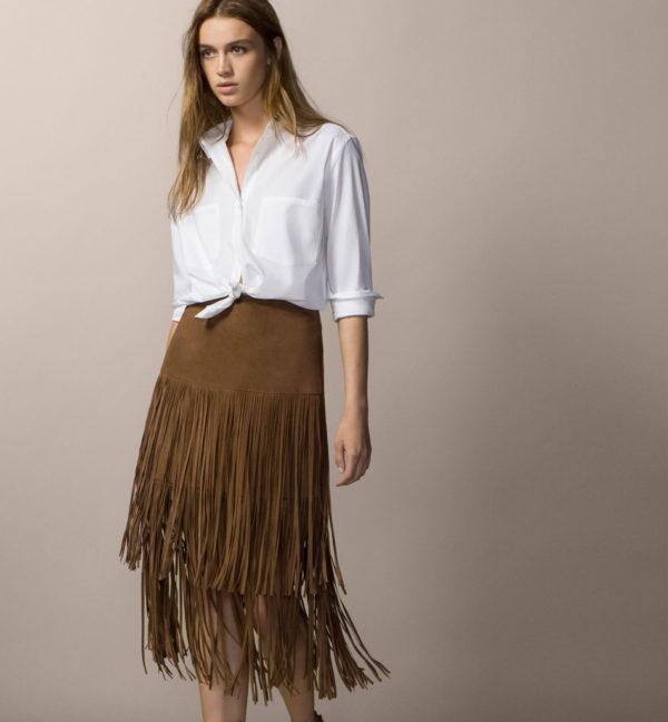 5279819f9 Las Faldas Largas de Moda en Primavera Verano 2019 - ModaEllas.com