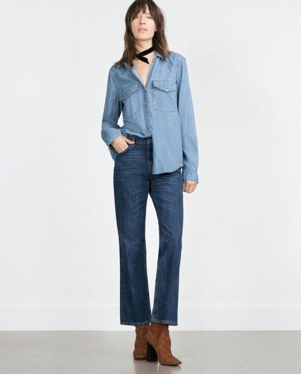 moda-otono-invierno-para-mujer-camisetas-y-camisas-CAMISAS-estilo-denim-de-zara