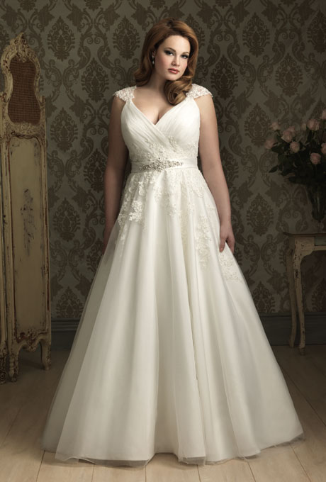 Vestidos de novias para gorditas bajitas