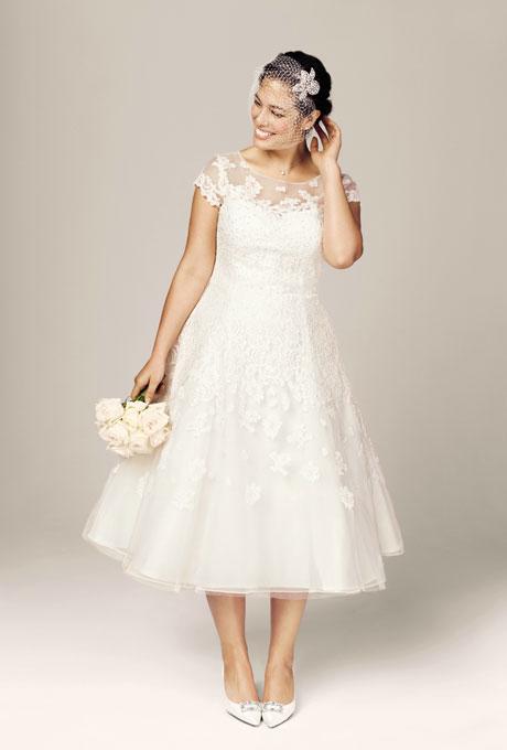 vestidos-de-boda-para-gorditas-MODELO-DRAPEADO-DE-DAVID´S-BRIDAL