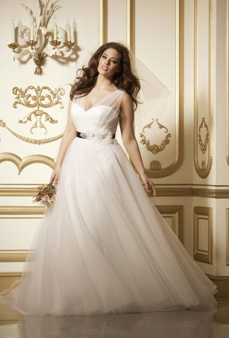 Vestidos de novia para personas llenitas