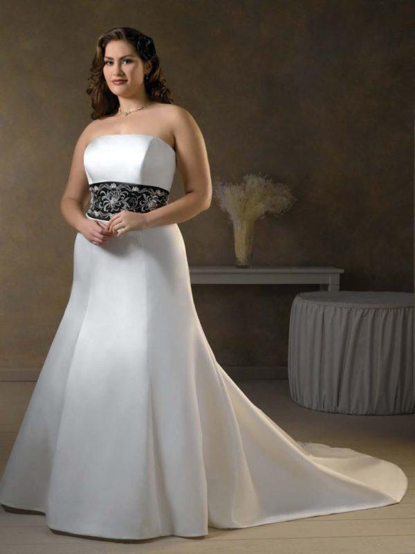 vestidos-de-boda-para-gorditas-MODELO-SATINADO-DE-EMPIRE-WAIST