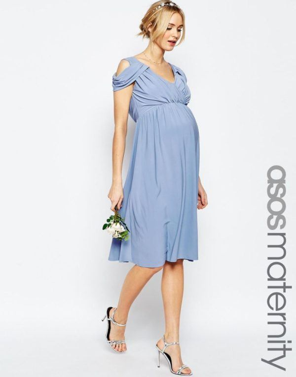 e3cfc402f Vestidos de fiesta Primavera Verano 2019 para mujeres embarazadas ...