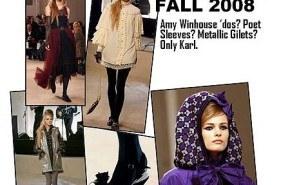 Chanel, adelanto de su colección otoño invierno 2008/2009 en Londres