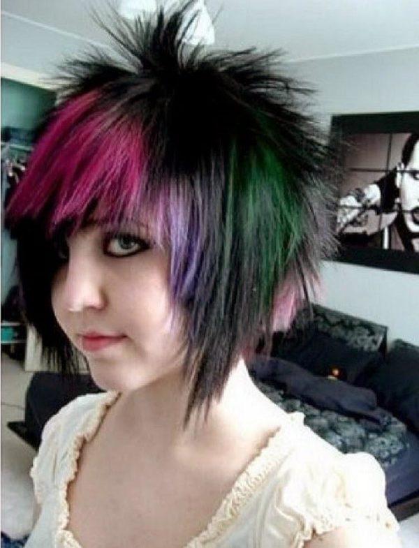 Cmo peinarte al estilo emo si tu cabello no es muy largo?