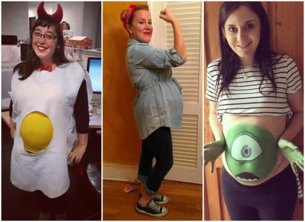 disfraces-de-halloween-para-embarazadas-huevo-frito