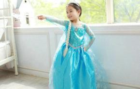 Disfraz Elsa Frozen para niña Halloween 2015