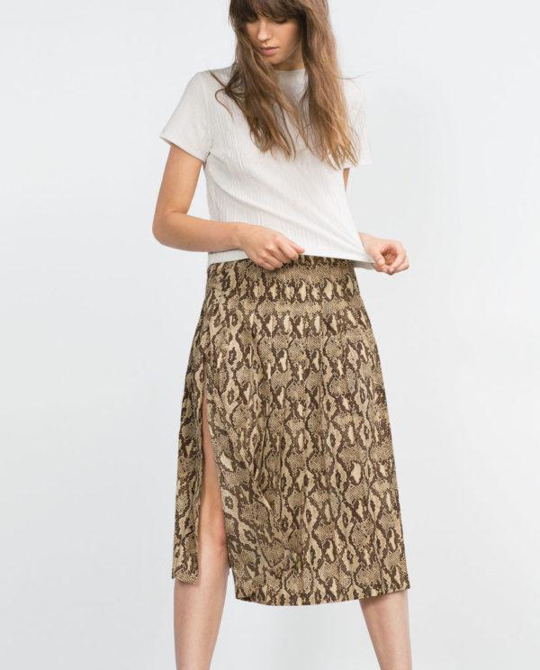 175bee7513 Las Faldas Largas de Moda en Primavera Verano 2019 - ModaEllas.com