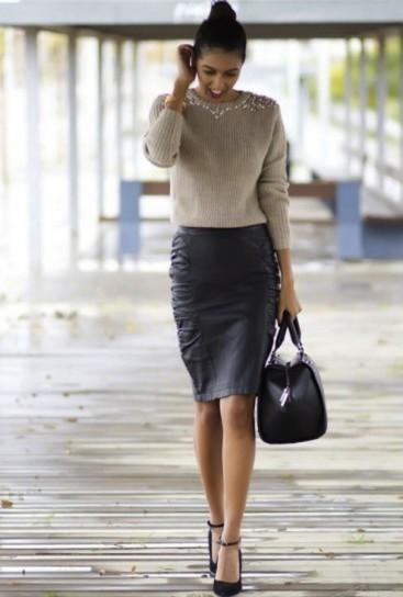 look ejecutivo falda
