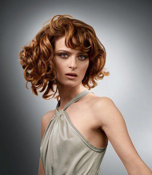 los mejores cortes de cabello para mujer otoo invierno u pelo rizado with cortes pelo rizado corto