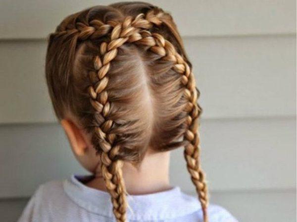 peinados nias 2016 trenza holandesa - Peinados Chulos