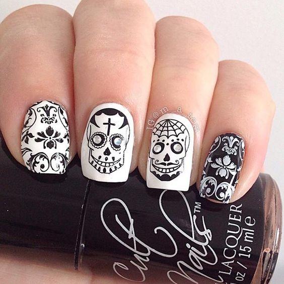 Some-halloween-white-black
