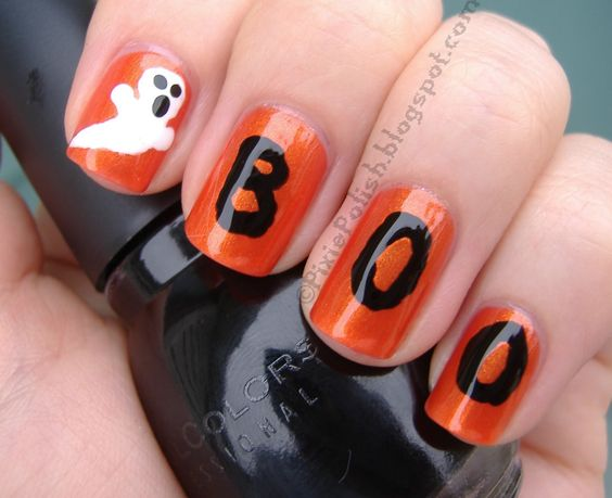 Halloween-ghost-orange