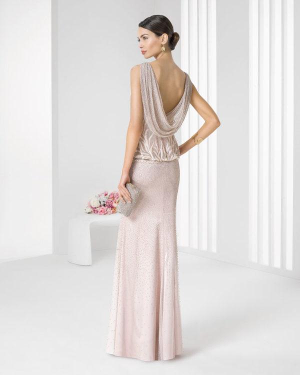 Comprar vestidos fiesta rosa clara