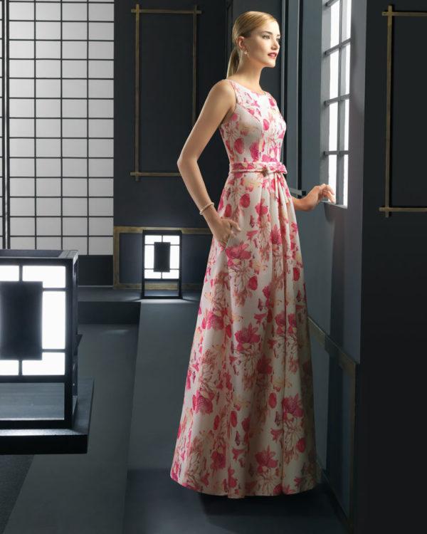 vestidos-de-fiesta-rosa-clara-2016-estampado-pique