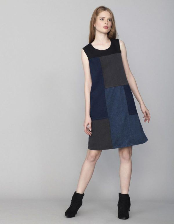 vestidos-otono-invierno-2016-denim-patchwork