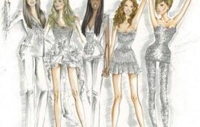 Diseños de Roberto Cavalli para las Spice Girls