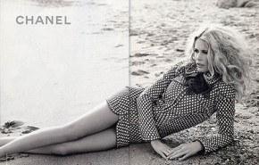 Claudia Schiffer para Chanel primavera verano 2008