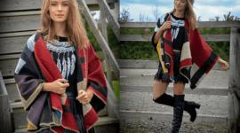 Los ponchos para mujer para este Invierno 2019