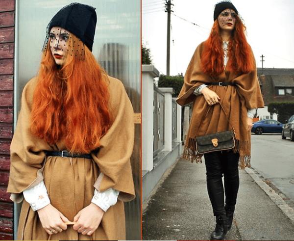los-ponchos-para-mujer-para-este-otono-invierno-poncho-con-cinturon