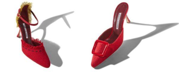 """12950458 Llevar, o tener, unos zapatos Manolo Blahnik suele ser un """"lujo"""" que pocas  mujeres se pueden permitir aunque estos sean de rebajas o de fuera de  temporada."""