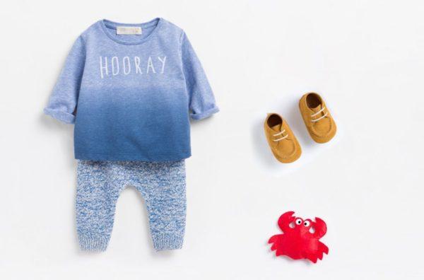 catalogo-zara-kids-verano-2016-ninos-conjunto-pantalon-jaspeado-camiseta-azul-mini