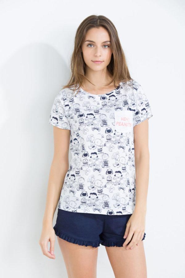 catálogo-womensecret-mujer-primavera-verano-pijama-snoopy