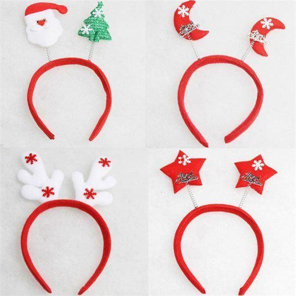 Diademas Para Navidad 2018 Modaellascom - Como-se-hacen-diademas