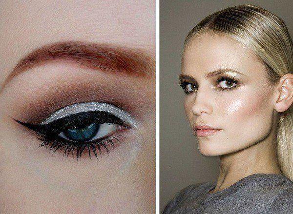 maquillaje-para-navidad-tonos-dorados-ojos