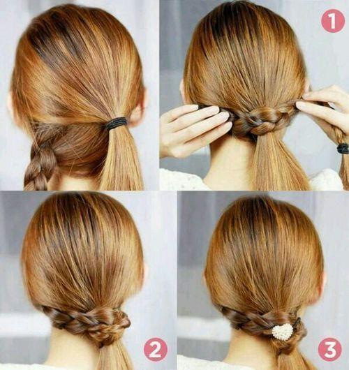 peinados para nia de fiesta primavera verano with peinados de trenzas para nia
