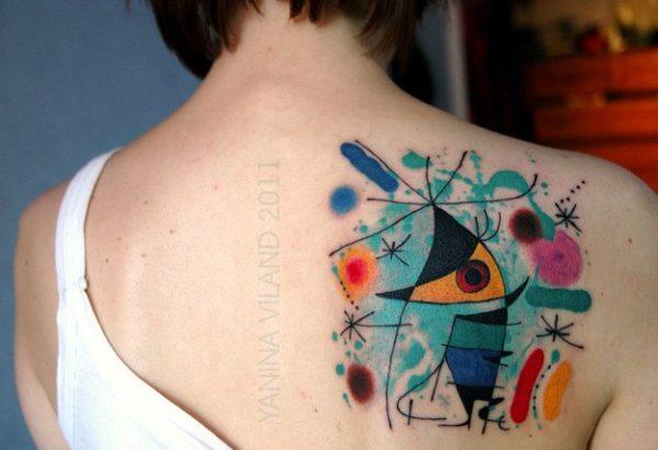 tatuajes-acuarela-para-mujeres-pimtura-de-miro