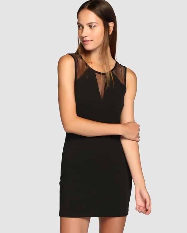vestidos-de-coctel-para-navidad-y-nochevieja-ajustado-negro