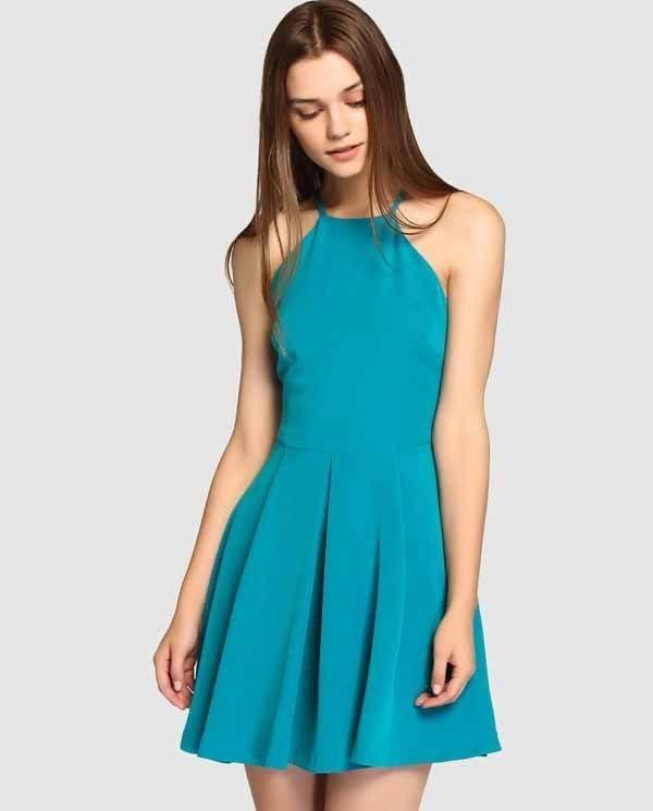 vestidos-de-coctel-para-navidad-y-nochevieja-azul-turquesa