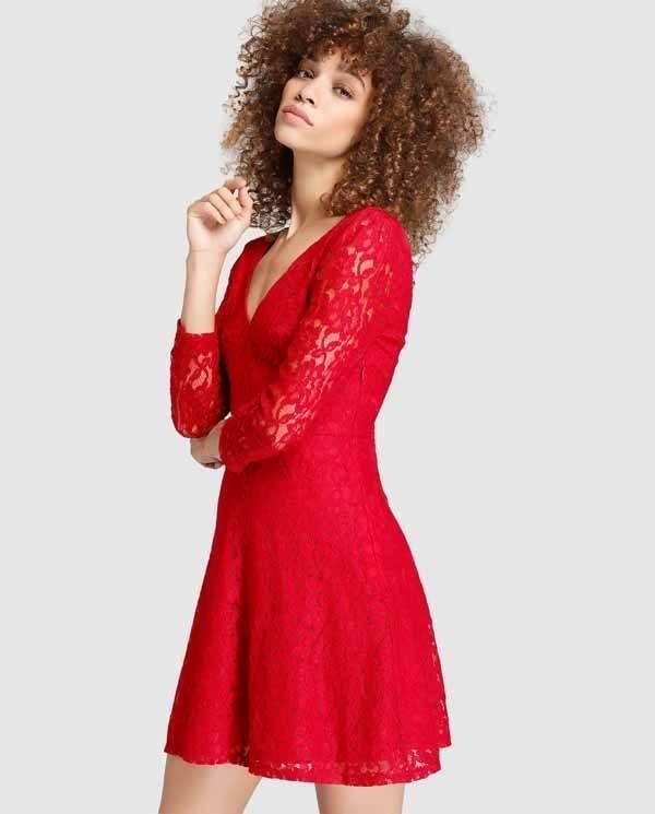 vestidos-de-coctel-para-navidad-y-nochevieja-rojo-easy-wear