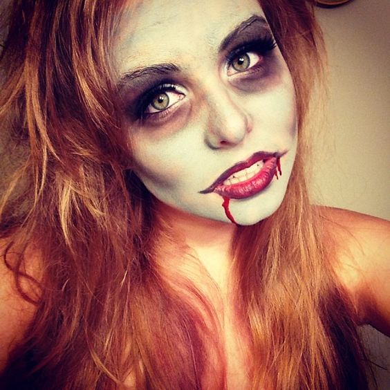 Makeup-halloween-zombie-as-paint-as-a-dead-living-photos-sencillo