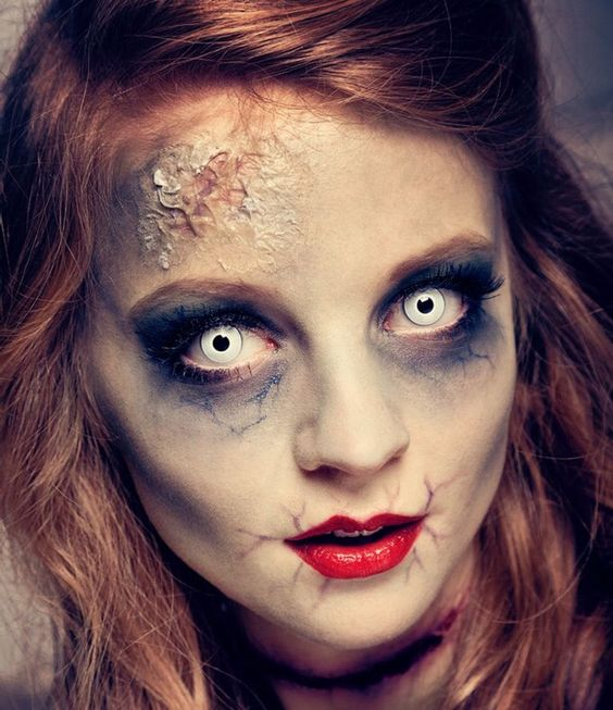 Makeup-halloween-zombie-as-paint-as-a-dead-living-photos-venas