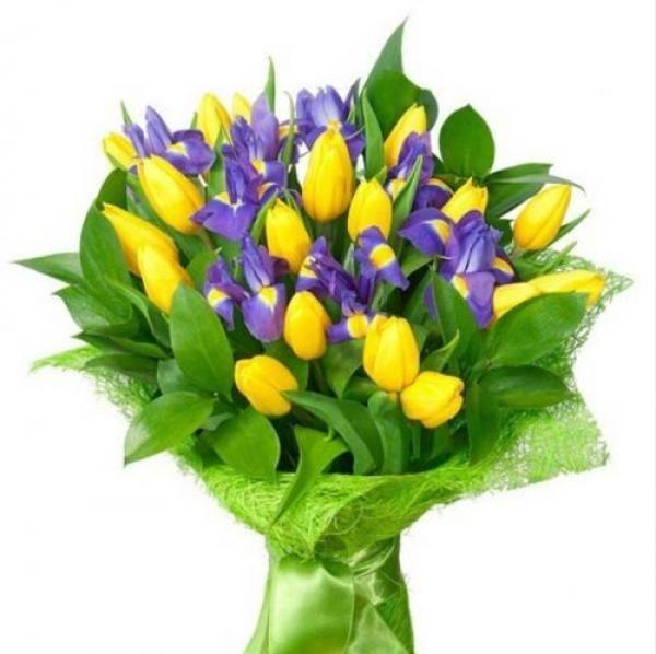 cuales-son-las-flores-preferidas-para-un-ramo-el-dia-de-san-valentin-2015-tulipanes-iris