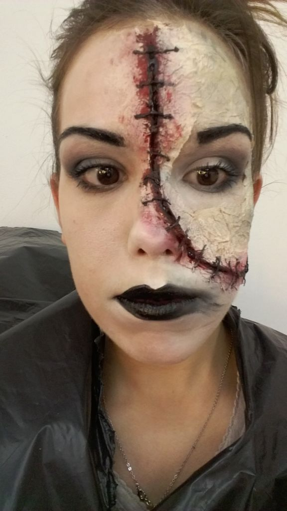 Makeup-halloween-face-face