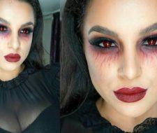 Maquillaje halloween vampiresa: cómo hacerlo