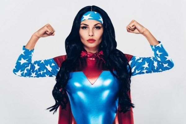 Trajes para carnaval 2018 trajes superheroína