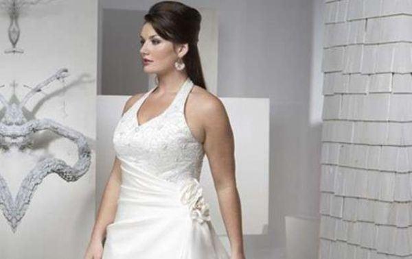 vestidos de boda para gorditas 2019 - modaellas