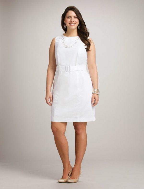 vestidos-de-noche-para-gorditas-cortos-blanco