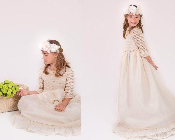 Imagenes de vestidos modernos blancos