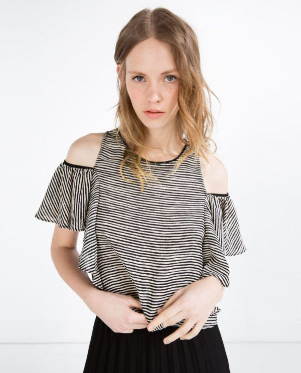 camisas-mujer-2016-tendencias-primavera-verano-zara-camiseta-volantes