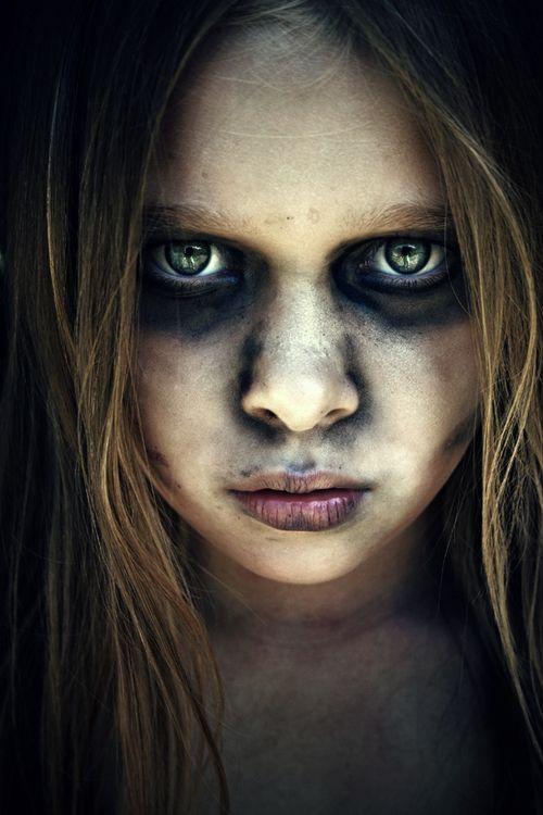 maquillaje halloween nina muerta - Maquillaje Halloween