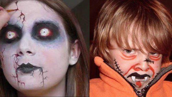 Fotos de Maquillaje de Carnaval 2018 y Halloween fcil para mujer