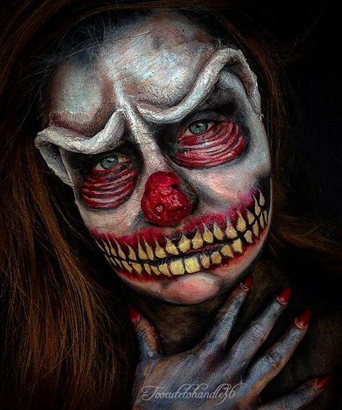 maquillaje halloween saw - Maquillaje Halloween